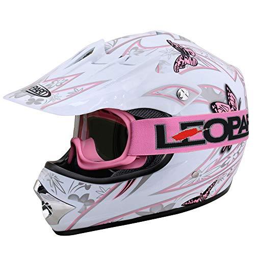 L XL Zerone Casco medio para motocicleta 61-62 cm circunferencia de la cabeza 57-58 cm M 59-60 cm opcional casco abierto con gafas desmontables y m/áscara para las cuatro estaciones