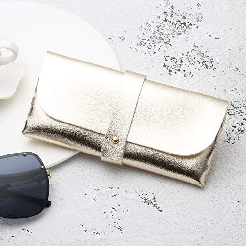 1PC Moda Hombres Mujeres Estuche para Gafas portátil Magnético PU Gafas de Sol Plegables Caja de anteojos Soporte para Gafas Accesorios - 05