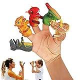 Yisscen 5 Piezas Mini Manos de Dedo, Mini Manos de Dedo Marioneta Dedo Muñecos Dedo Tiny Hands Dedo Juguetes Conjunto para Fiesta Cumpleaños Niños Tiempo de Juego Escuelas