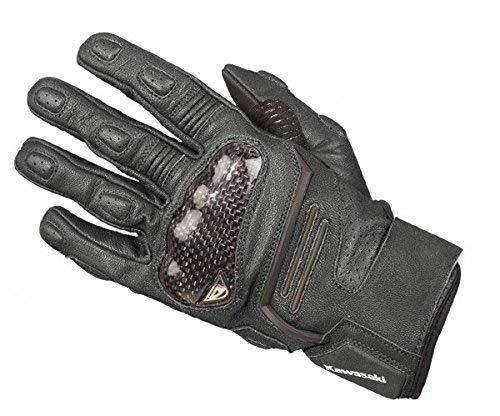 Kawasaki Asphalt Handschuhe schwarz Größe L