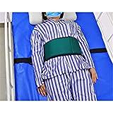 HNYG Medical Bed Restraints Straps,Chest Cushion Seat Belt, Care Safety System Guard, Soft Personal Roll Belt Control Limb,Bed Restraints Fall Prevention Elderly