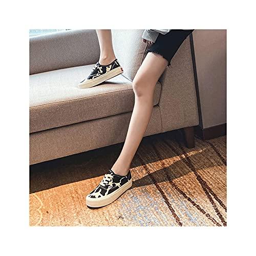 HaoLin Mocasines Sin Cordones Zapatos para Conducir Confort Zapatos para Caminar Que Aumentan La Altura Zapatillas para Conducir,Black-38 EU
