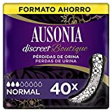 Ausonia Discreet Boutique Compresas Para Pérdidas De Orina Normal Para Vejigas Hiperactivas x 40