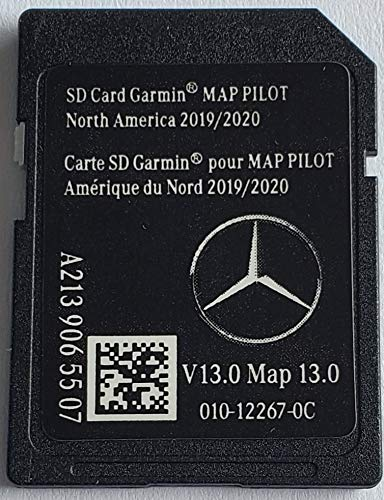 Navigation SD Card Mercedes STAR2 North America V13 2019/2020 A2139065507