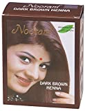 Noorani Henna Based Hair Color and Herbal Powder in USA   Ships from California (3 (18 Pouch x 10g), DARK BROWN HENNA)