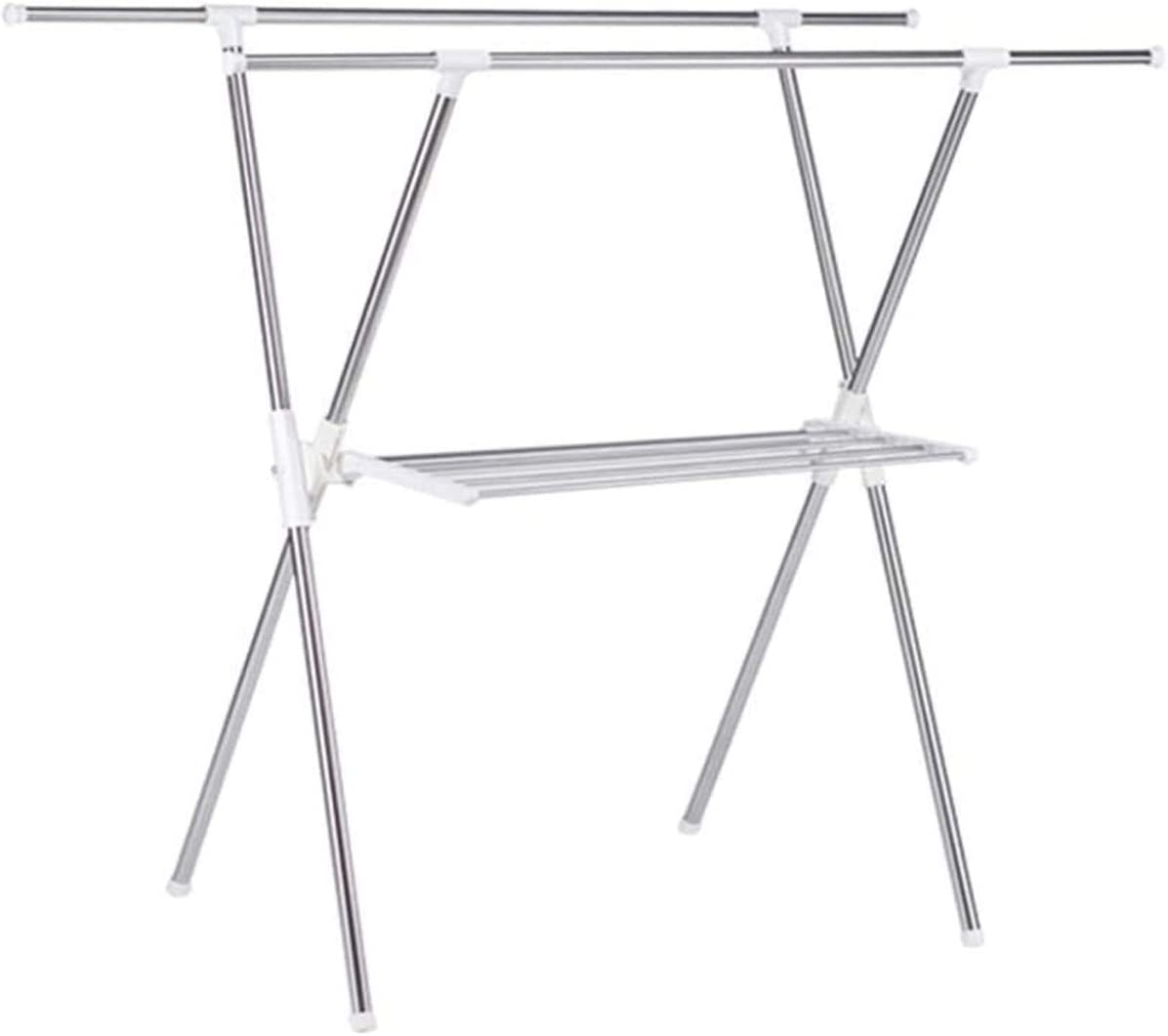 Clothes Super beauty product restock quality top Drying Rack Laundry lowest price Storage Foldin Products Floor X-Type