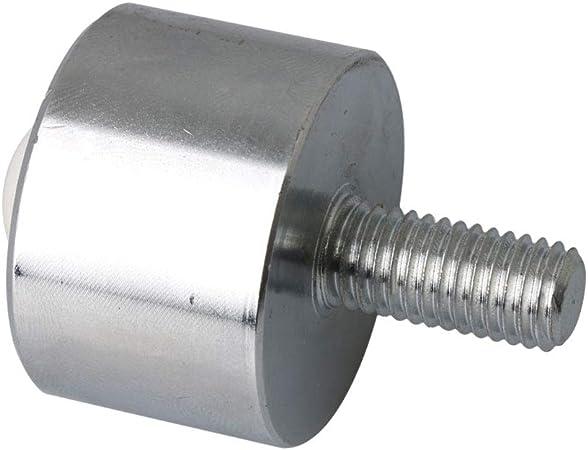 Yibuy Metal M8 Stem Ball Transfer Bearing 15mm Ball Dia for Processing System