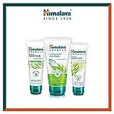 Himalaya Neem Face Wash Gel, Scrub and Mask - Soluzione naturale senza sapone per uomini e donne - Aiuta a ridurre al minimo, controllare e prevenire l'acne - Set di 3 (Total Acne Solution Set-Gel)