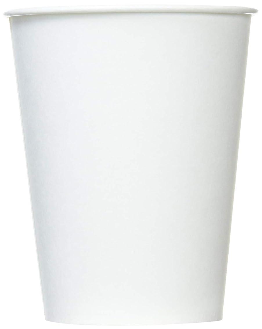 拍手する取り組む意味のあるホワイトカップ 紙コップ 275ml 100個入り 業務用