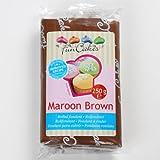 Funcakes Rollfondant in vielen verschiedenen Farben -250g- (Maroon Brown)