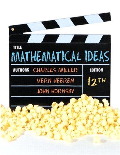 Mathematical Ideas / MyMathlab/ MyStatlab Student Access Code