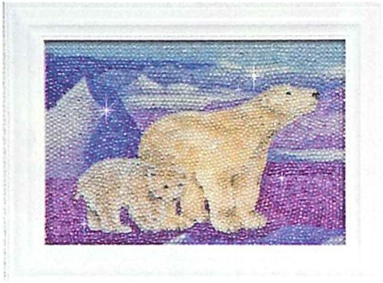 Family Hamanaka Bee touch Art Kit   polar bear (japan import)