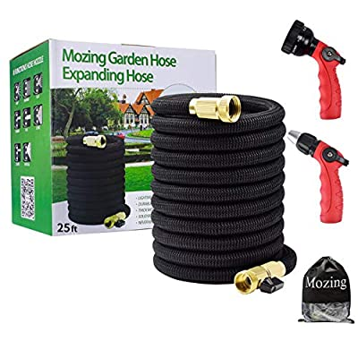 Mozing 25ft Water Hose and Expandable Garden Ho...