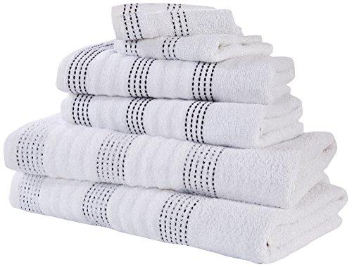 Rapport SPA–Juego de Toallas (M2), 100% algodón–Color Blanco