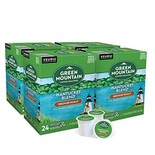 Green Mountain Coffee Roasters Nantucket Blend, Single-Serve Keurig K-Cup Pods, Medium Roast Coffee, 96 Count