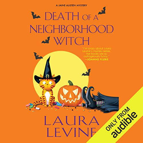 Death of a Neighborhood Witch audiobook cover art