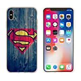 Aestgirl iPhone Case for Superman iPhone 7 8 Hero Case Superman Blue Case AC205 (Superman_Blue, 7 or 8)
