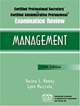 Certified Professional Secretary and Certified Administrative Professional Examination Review: Management (5th Edition) (Paperback)