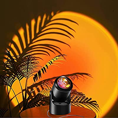 Amazon - 50% Off on Sunset Lamp Projector Night Lights – Sunset Projection