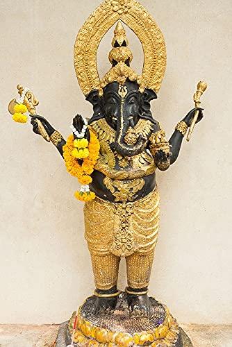 ArtExpert Thailand-Bangkok-Chinatown Statue of The Elephant god-Ganesha by Tom Haseltine -