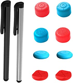Homyl Universal Touch Screen Pen with Thumb Grips Cap Set