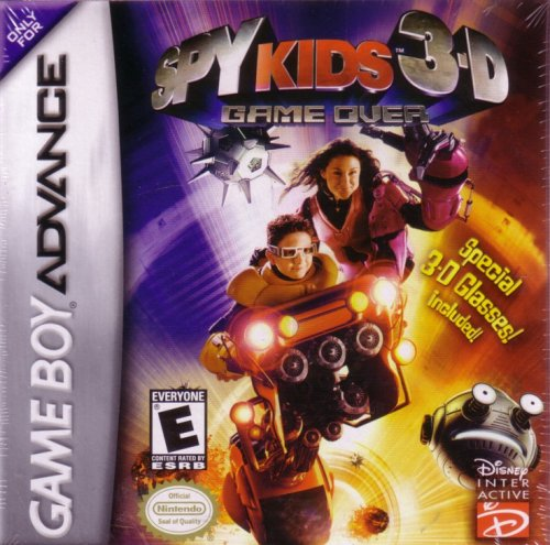 Spy Kids 3-D: Game Over - Game Boy Advance