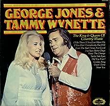 George Jones & Tammy Wynette The King & Queen Of Country Music 1976 UK vinyl LP SHM3024