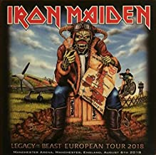Legacy Of The Beast European Tour 2018 - Manchester Arena, Manchester, England, August 6th 2018