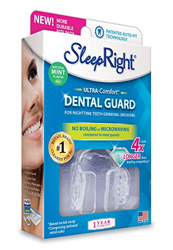 SleepRight Ultra-Comfort Dental Guard Mouth Guard To Prevent Teeth Grinding No Boil Extra Strong