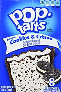 Kelloggs Pop-Tarts Cookies & Creme 8 piece (400g)