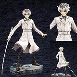 KIJIGHG Anime Tokyo Ghoul Kaneki Ken de pie PVC Figura de Anime Figuras de acción Modelo de Personaj...