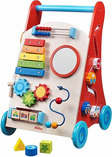 Nuby - Andador para bebés de madera - 10m+