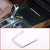 DIYUCAR Marco de plástico ABS mate para interior de coche para X5 X6 E70 E71 2008 – 2013 accesorios