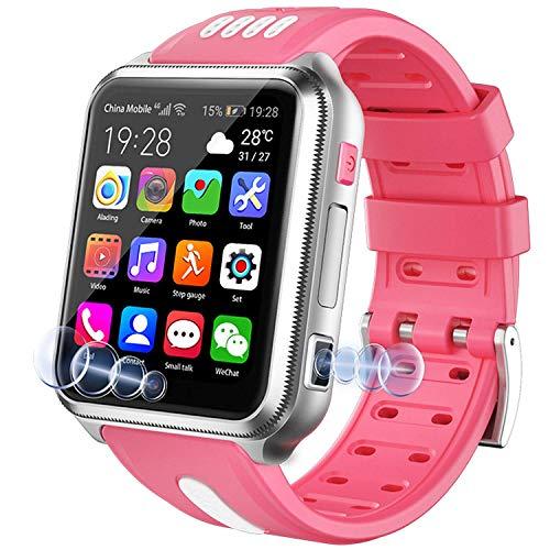 Reloj de pulsera impermeable IP67 para niños y niñas de 3 a 12 años (rosa)