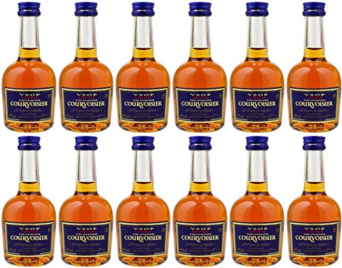 Courvoisier VSOP Cognac Miniatures 12 x 5cl (12 Pack)