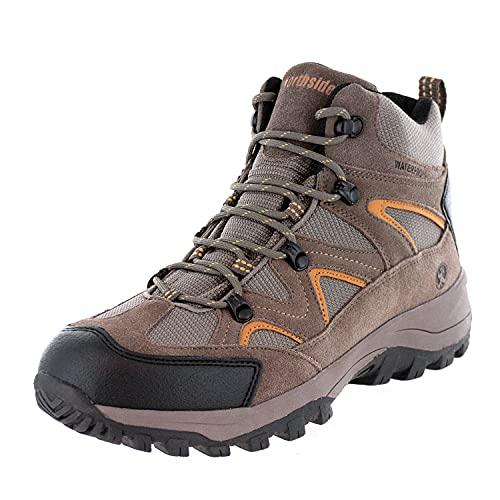 Northside Men's Snohomish Hiking Boot,Tan/Dark Honey,9 W US