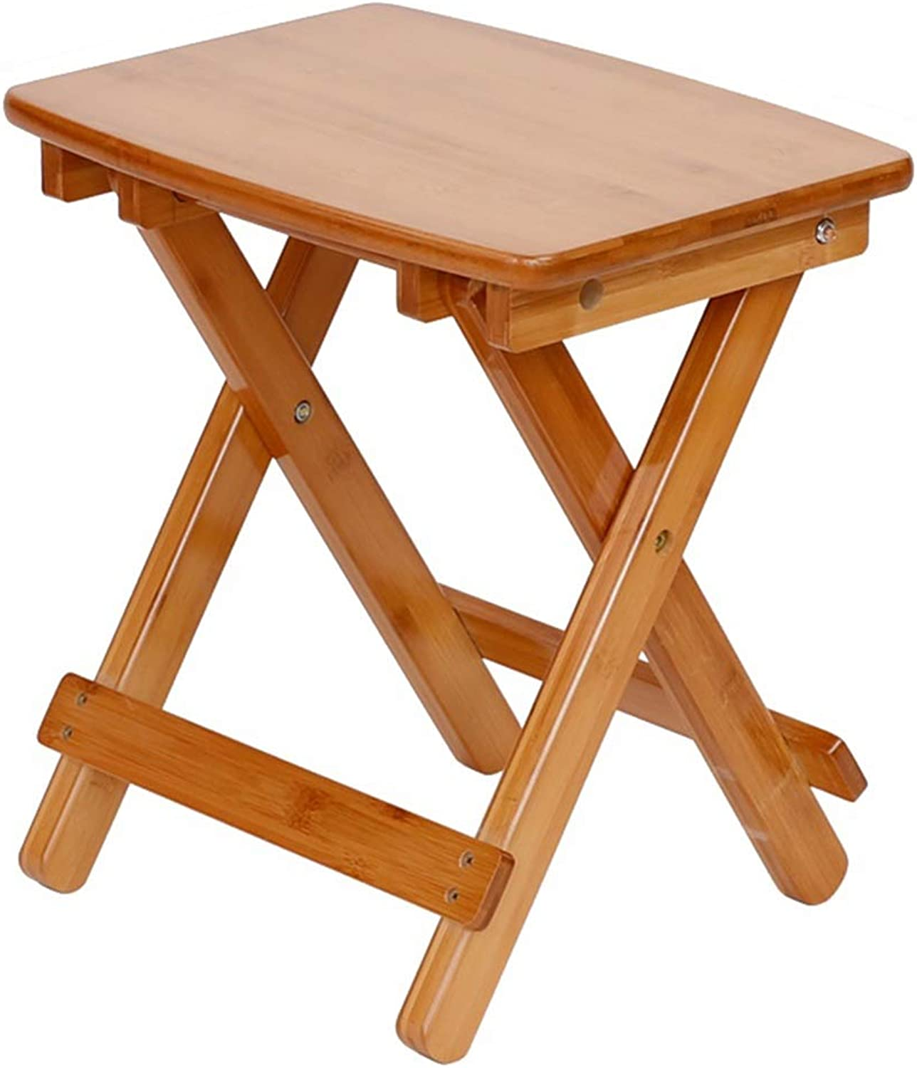 Folding Stool Folding Step Mazza Portable Stool Mazar shoes Stool Footstool Step Stool Adjustable Foot Rest Collapsible Bamboo Bench Mazza Portable Household GAOFENG (color   Natural Arc-S)