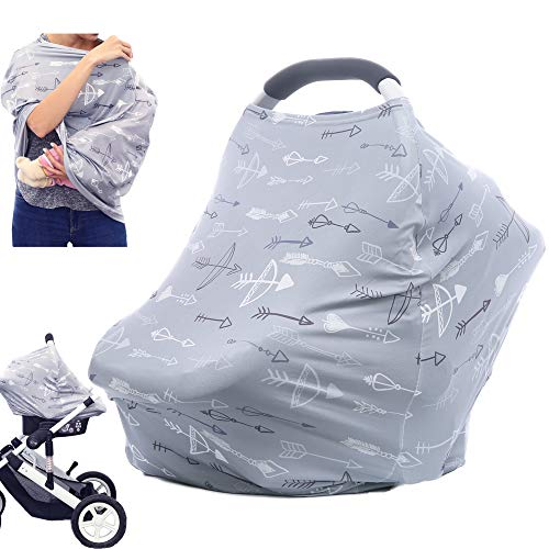 Best Prices! Breastfeeding Nursing Cover Carseat Canopy - Multi Use Car Seat Covers for Babies, Infa...