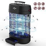 VIFLYKOO Lampe Anti-Moustique,UV LED Tue Mouches Destructeur D' Insectes Electrique 14W Pas de Produits Chimiques avec Piège à Insectes de Grande Capacité pour Une Utilisation en Intérieur