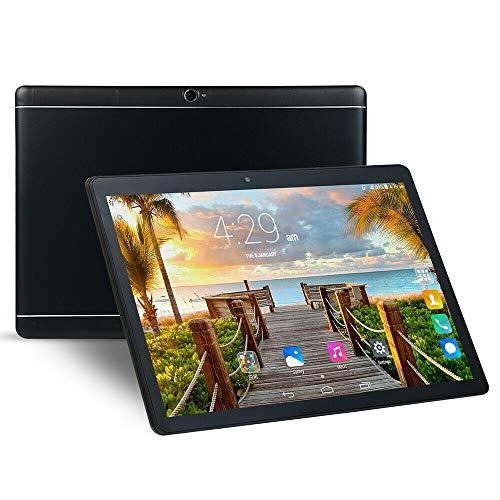 RUNNA M4 3G Llamada telefónica Tablet PC, 10,1 Pulgadas, 2GB + 32 GB, Android 4.4 MTK6592 Octa Core 1.3GHz, Dual SIM, Soporte GPS, OTG, WiFi, Bluetooth (Color : Black)