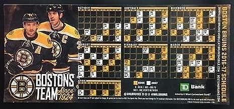 boston bruins schedule magnet