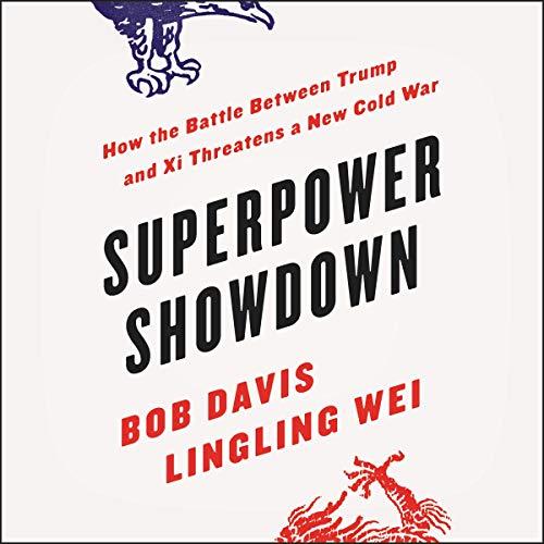 Superpower Showdown audiobook cover art