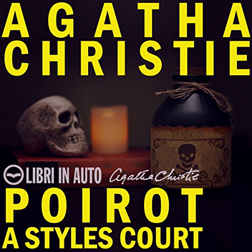 Poirot a Styles Court audiobook cover art
