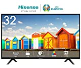 HISENSE H32BE5000 TV LED HD, Natural Colour Enhancer, Clean Sound, Motion Picture Enhancer, Tuner DVB-T2/S2 HEVC, 2 HDMI, USB Media Player