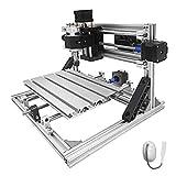 Bisujerro 2418 Máquina de Grabado CNC 3 Ejes Máquina de Fresado Máquina Grabadora 240X180X40mm CNC Router Machine (básico)
