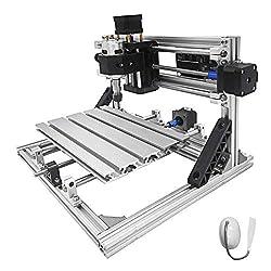 VEVOR 2418 cnc engraving machine milling 3 axis CNC Router Machine Er11 5MM milling machine cnc 240X180X40Mm engraving machine kit