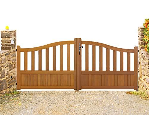 portail bois bricomarche