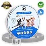 Flеa Tiсk Collar Prevention Control for Dogs & Cats - Natural Herbal Non-Toxic Adjustable Flеa...