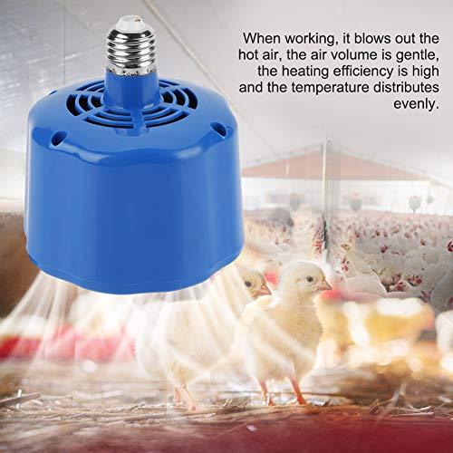 Acogedor Pet-Wärmelampe, Heizlampe Wärmelampe wärmestrahlgerät Tiere Vieh-Wärmelampe, Hühnerstallheizung, Geflügel-Wärmelampe für Brüter, Lämmer, Hühner, Enten usw