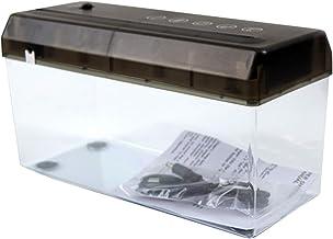 $32 » NUOBESTY Mini Paper Shredder Portable Paper Shredder A4 Document Paper Cutting Tool Mini USB Shredder for Home Office Desk...